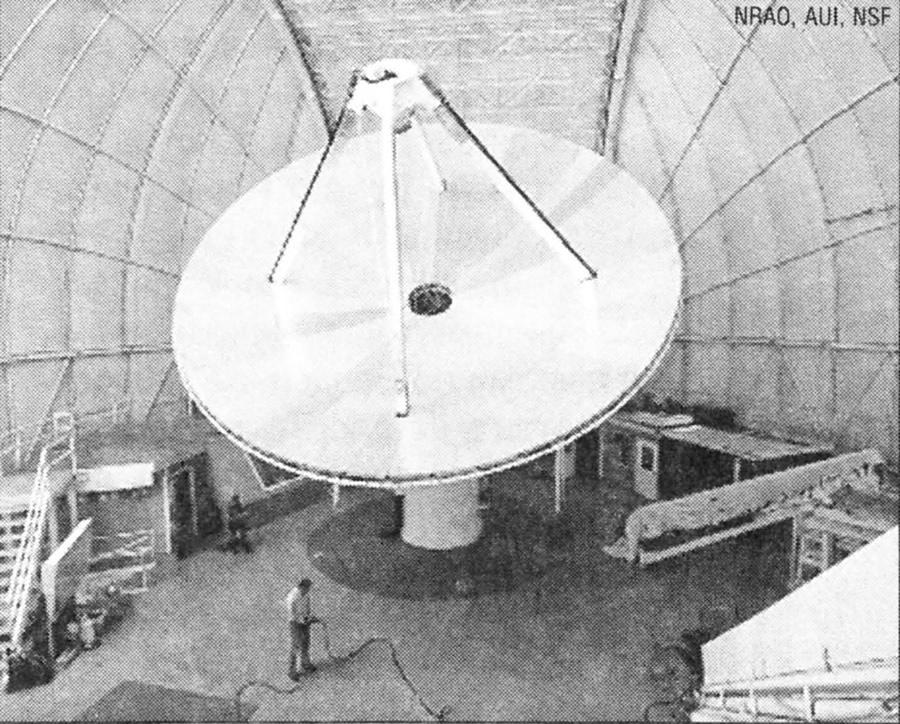 12-метровый радиотелескоп NRAO