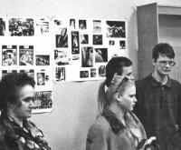 Члены астрокружка в Дворец пионеров на Миусской ппощади
