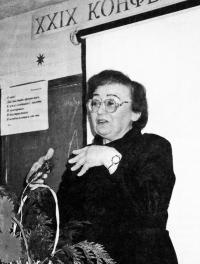 Директор Астрономической обсерватории Уральского госуниверситета П. Е. Захарова