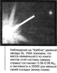 Двойная звезда GL 105A