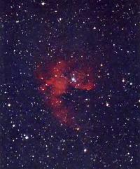 Эмиссионная туманность NGC 281