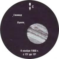 Фото Юпитера 4 ноября 1998 года