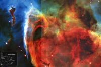 Фрагмент NGC 3372