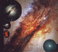 Галактика Центавр A (NGC 5128)