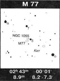 Галактика Кита М77