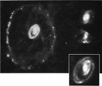 Галактика Колесо от телеги