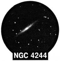 Галактика NGC 4244