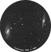 Галактики М65 и М66