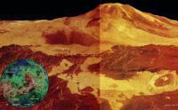 Гора Маат на Венере