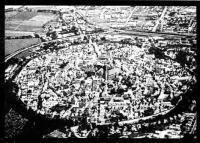 Город в метеоритном кратере