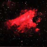 Инфракрасный снимок М17