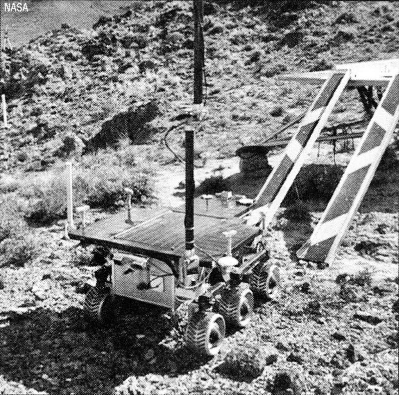Испытания марсохода