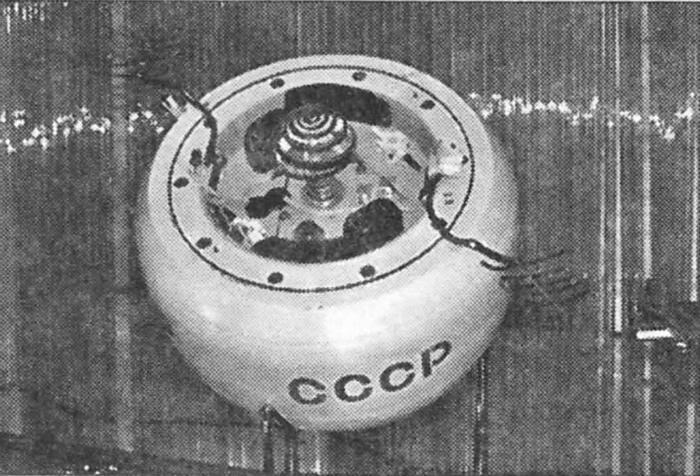 Капсула, в которой во время перелета находился аппарат Венера-7