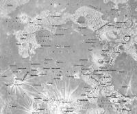 Карта бассейна Моря Дождей