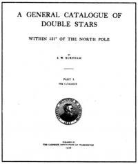 каталог 1294 пар двойных звезд