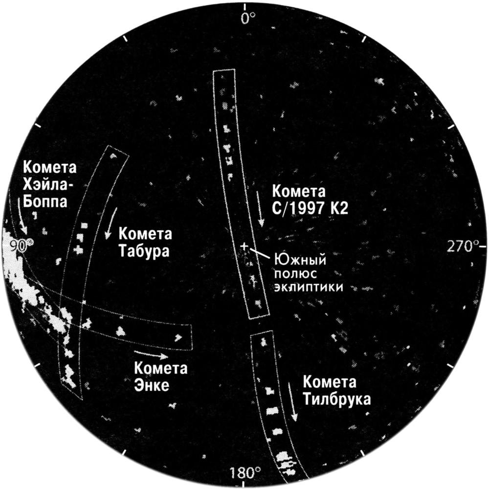 Комета-невидимка С-1997 К2