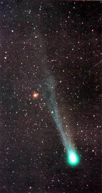 Комета Хиакутаке 22-23 марта