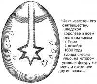 Комета на яйце