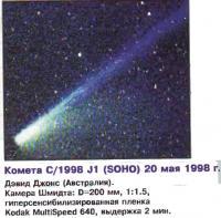 Комета С/1998 J1 (SOHO)