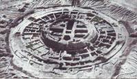Кой-Крылган-Кала по завершении раскопок в конце 60-х годов