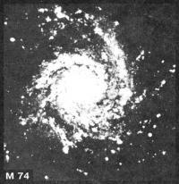 M74 фотография