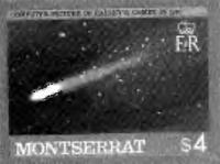 Марка возвращению кометы Галлея