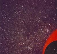 Млечный путь в созвездии Лебедя
