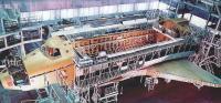 Момент сборки орбитального корабля Буран