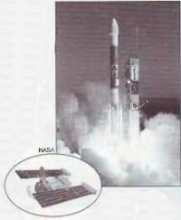 Момент старта ракеты-носителя Дельта