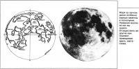 Моря на лунном диске