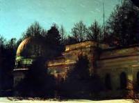 Ночь над астрономической обсерваторией им. Энгельгардта