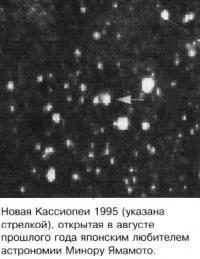 Новая Кассиопеи 1995