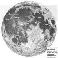 Объекты Луны, где чаще всего наблюдали кратковременные явления