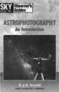 Обложка книги Введение в астрофотографию