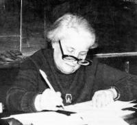 Один из зачинателей Школы профессор К. А. Бархатова