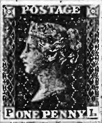 Первая в мире марка выпущенная в Англии 1 мая 1840 года