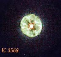 Планетарная туманность IC 3568