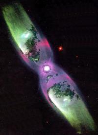 Планетарная туманность Минковский 2-9