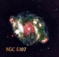 Планетарная туманность NGC 5307