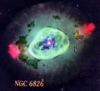 Планетарная туманность NGC 6826