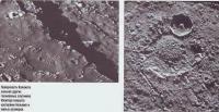 Поверхность Каллисто покрыта кратерами больших и малых размеров