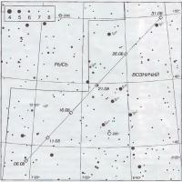 Путь кометы Ли в августе 1999