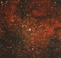 Рассеянное звездное скопление и туманность 1C 1396