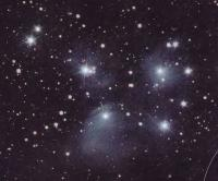 Рассеянное звездное скопление Плеяды М45