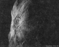 Рисунок кратера на астероиде