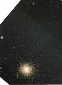 Шаровое скопление М13 и галактика NGC6207