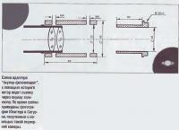 Схема адаптера окуляр-фотоаппарат