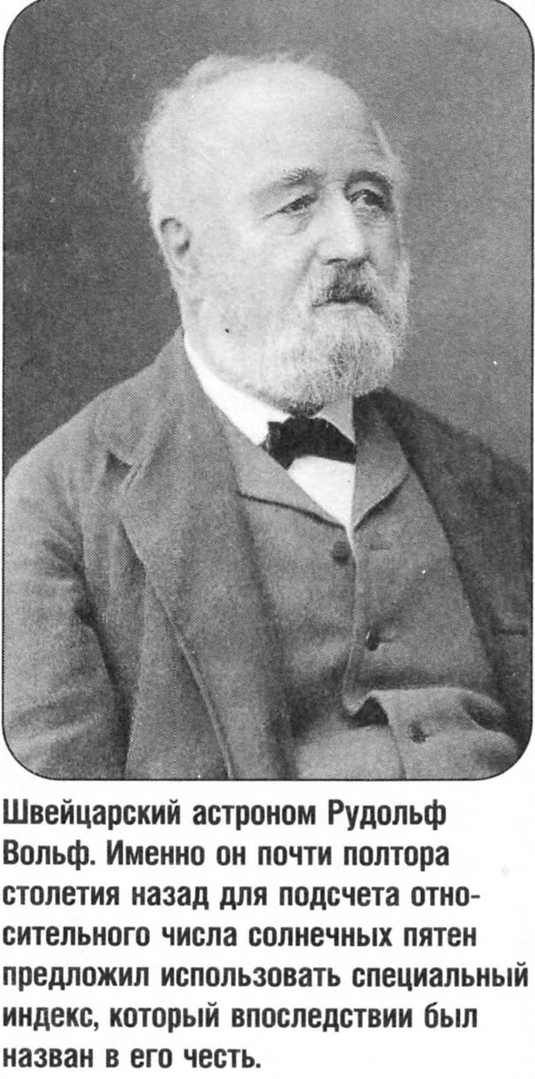 Швейцарский астроном Рудольф Вольф