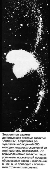 Система галактик Антенны