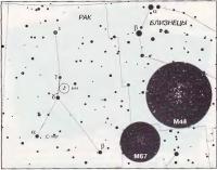 Скопление М44 и M67